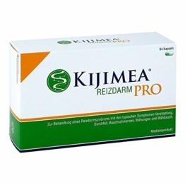 KIJIMEA® Reizdarm PRO – Therapie bei Reizdarmsyndrom (Durchfall, Bauchschmerzen, Blähungen, Verstopfung) – klinisch belegte Wirksamkeit – vegan, glutenfrei, laktosefrei – 84 Kapseln - 1